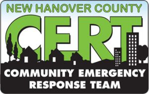 New Hanover County CERT - Community Emergency Response Team Logo