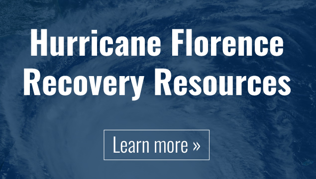Hurricane Florence Recovery Resources - Learn More